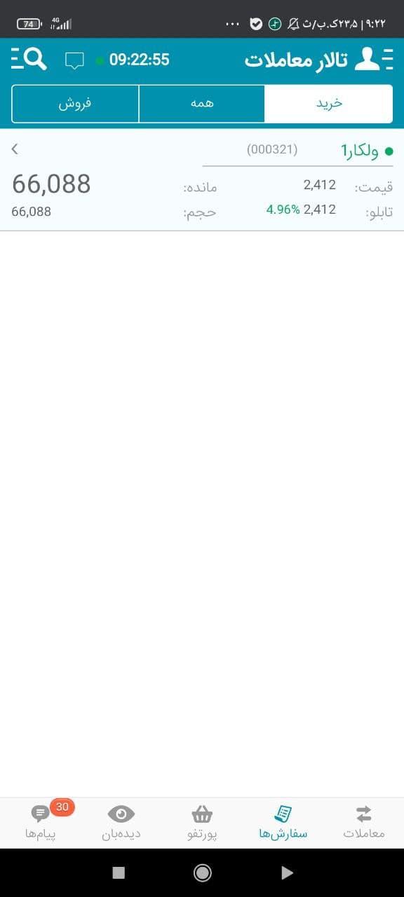 ولکار جایگاه 321 (23 خرداد 1400)